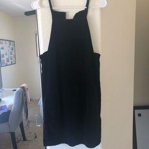 Super Cute Velvet Topshop Dress